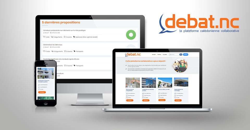 Création du site internet DEBAT.NC