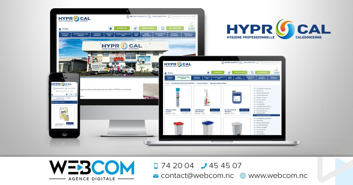 Création du site internet HYPROCAL