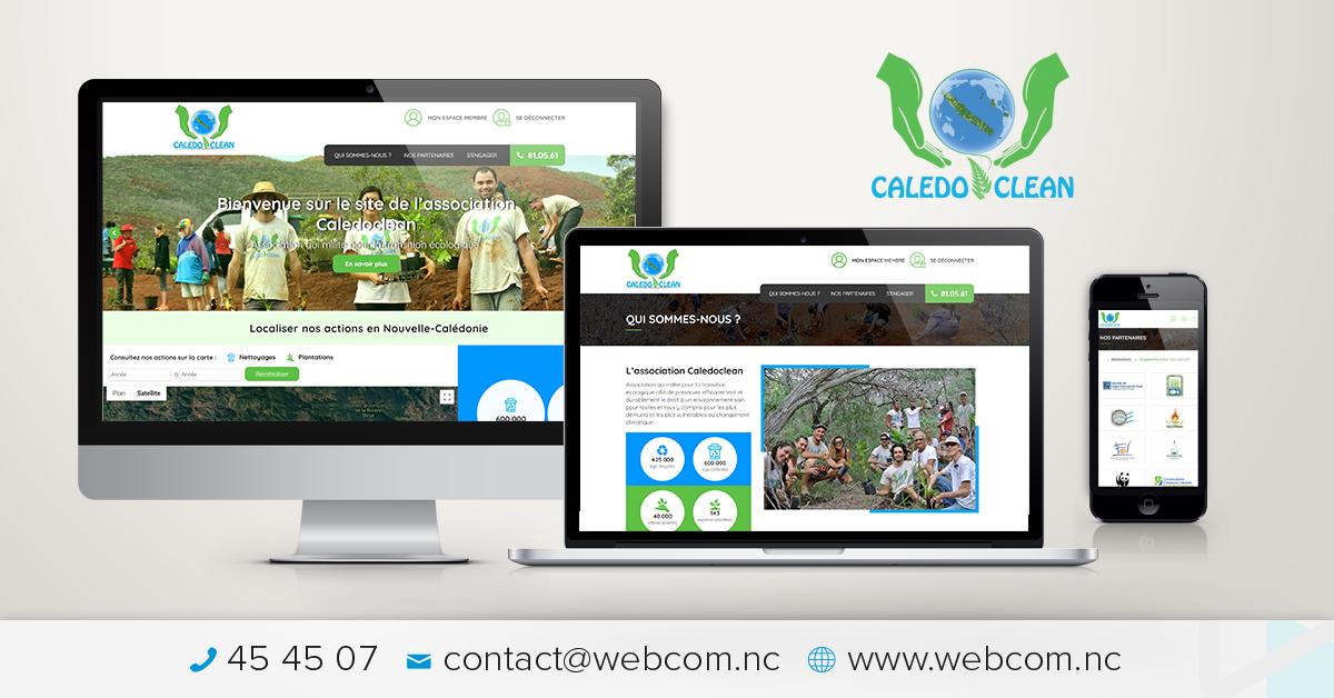 Création du site internet Caledoclean